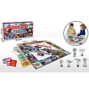 Настільна гра 4005 Монополія, кор., 50,5-25,5-3,5 см.