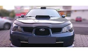 Мухобойка, дефлектор капота Subaru Impreza с 2005–2007 г.в.