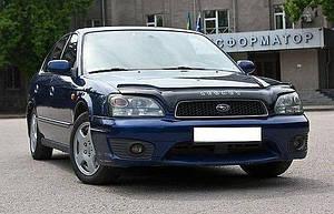 Мухобойка, дефлектор капота Subaru Legacy III c 1998-2003 г.в./ Outback II с 1999-2003 г.в.