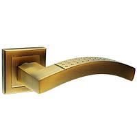 KEDR Дверные ручки HRoz-15.256-AL-COFEE (кофе)