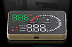 Проектор приборной панели на лобовое стекло HUD X6, фото 2