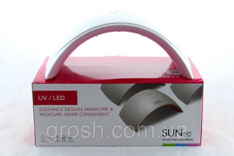 Лампа для ногтей Beauty nail 9S FD88-1 + LCD