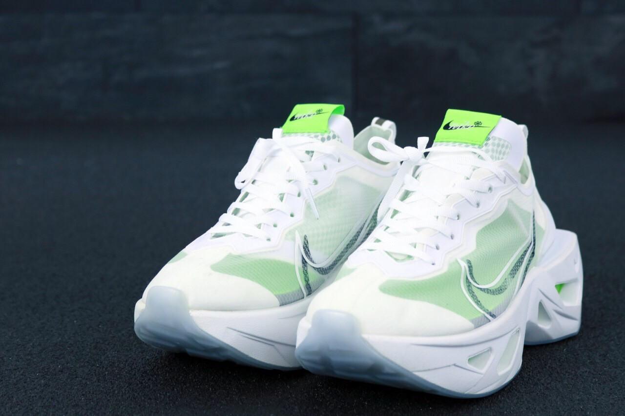 Мужские белые Кроссовки Nike Zoom X Vista Grind (реплика)