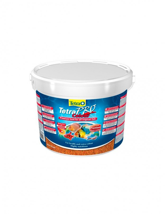 Tetra Pro Сolour 10L/2.1 кг  Корм для аквариумных рыб (для окраса)