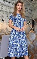 Платье женское весна-лето повседневного стиля стрейч-жаккард 42-48 р. Турция