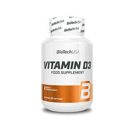 BioTech USA Vitamin D3 60 caps