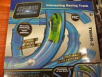 Трубопроводный  авто трек трасса- Chariots Speed Pipes Набор 28 деталей