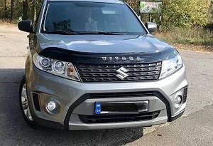 Мухобойка, дефлектор капота Suzuki Vitara с 2015- г.в.