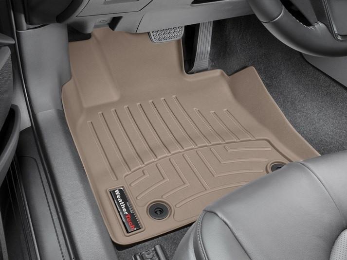 Ковры резиновые WeatherTech Toyota Camry 2017+ передние бежевые