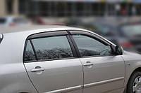 Ветровики Toyota Corolla Hb 5d 2001-2007  дефлекторы окон