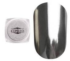 Komilfo Mirror Powder №001, серебро, 0,5 г