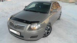 Мухобойка, дефлектор капота TOYOTA Avensis с 2003-2008 г.в.