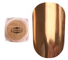 Komilfo Mirror Powder №004, бронзовый, 0,5 г