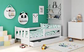 Ліжко дитяче MARINELLA 80х160 білий (Halmar)