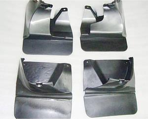 Брызговики полный комплект для Toyota Land Cruiser Prado 120 2003-2009 комплект 4шт MF.TOLCP2003
