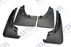 Брызговики полный комплект для Toyota RAV4 2006-2012 с расшир колес арок (PZ416X096200;PZ416X096300) кт 4-шт MF.TORAV42006RA