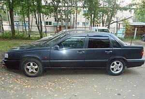 Ветровики Volvo 850 Sd 1991-1997  дефлекторы окон