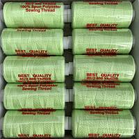 Нитки швейні 40/2 (400Y) салатові