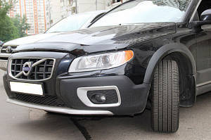 Мухобойка, дефлектор капота Volvo XC70 с 2007- г.в.