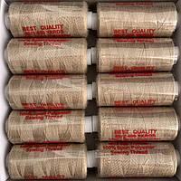 Нитки швейні 40/2 (400Y) світло-коричневі