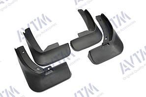 Брызговики полный комплект для Volkswagen Jetta 2011-2015 (5C6075111;5C6075101), комплект 4шт MF.VWJT2011