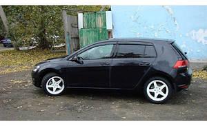 Ветровики VW Golf VII 5d 2012  дефлекторы окон