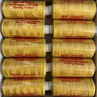 Нитки швейні 40/2 (400Y) гірчичні
