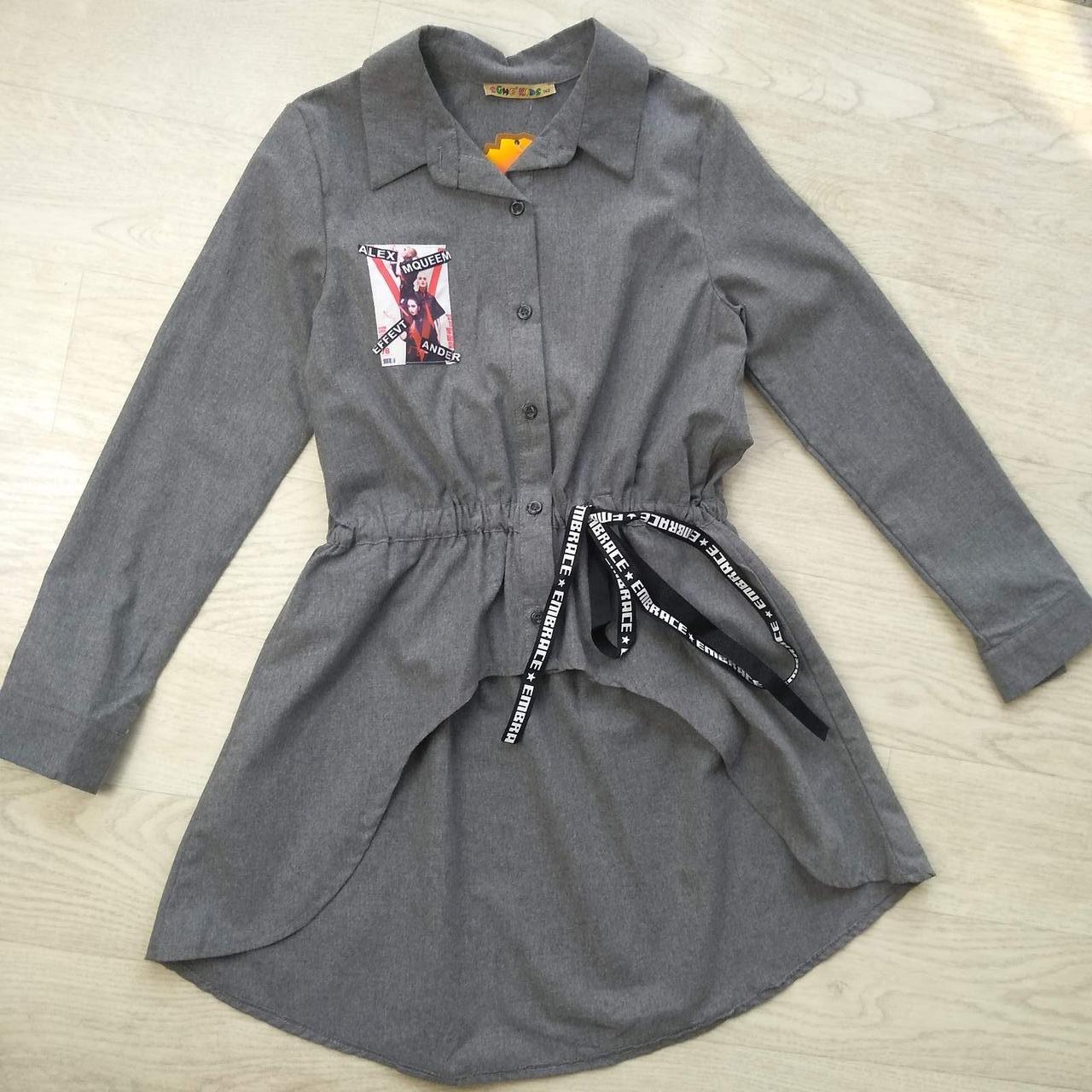 Рубашка-туника для девочки р. 140, 152, 164, 176