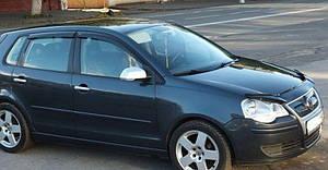 Вітровики VW Polo IV 5d 2004-2009 дефлектори вікон