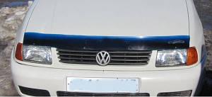 Мухобойка, дефлектор капота VW CADDY с 1996-2004 г.в.