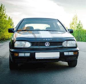 Мухобойка, дефлектор капота VW Golf-3 с 1991-1997 г.в.