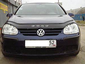 Мухобойка, дефлектор капота VW Golf-5 с 2003-2008 г.в.