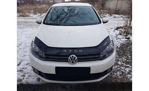 Мухобойка, дефлектор капота VW Golf 6 с 2008-2012 г.в..
