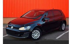 Мухобойка, дефлектор капота VW Golf 7 с 2012- г.в..