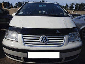 Мухобойка, дефлектор капота VW Sharan 2 с 2000-2010 г.в.