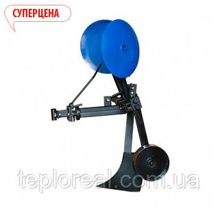 Картоплесаджалка КСОП - 1 (AGROMARKA) для мотоблока оборотна з опорним колесом