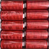 Нитки швейні 40/2 (400Y) червоні