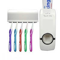 Держатель с дозатором для зубных щёток