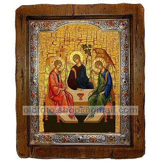Иконы чтимых праздников и святых (посеребренный оклад)
