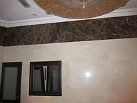 Облицовка стен и укладка пола мрамором, гранитом, ониксом