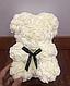Мишка из искусственных роз 25 см (6 цветов), фото 7