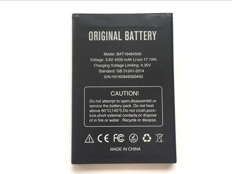 Акумуляторна батарея BAT16464500 для мобільного телефону Doogee T5, T5s, T5 Lite