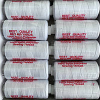 Нитки швейні 40/2 (400Y) білі
