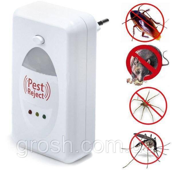 Ультразвуковой отпугиватель насекомых и грызунов Pest Reject