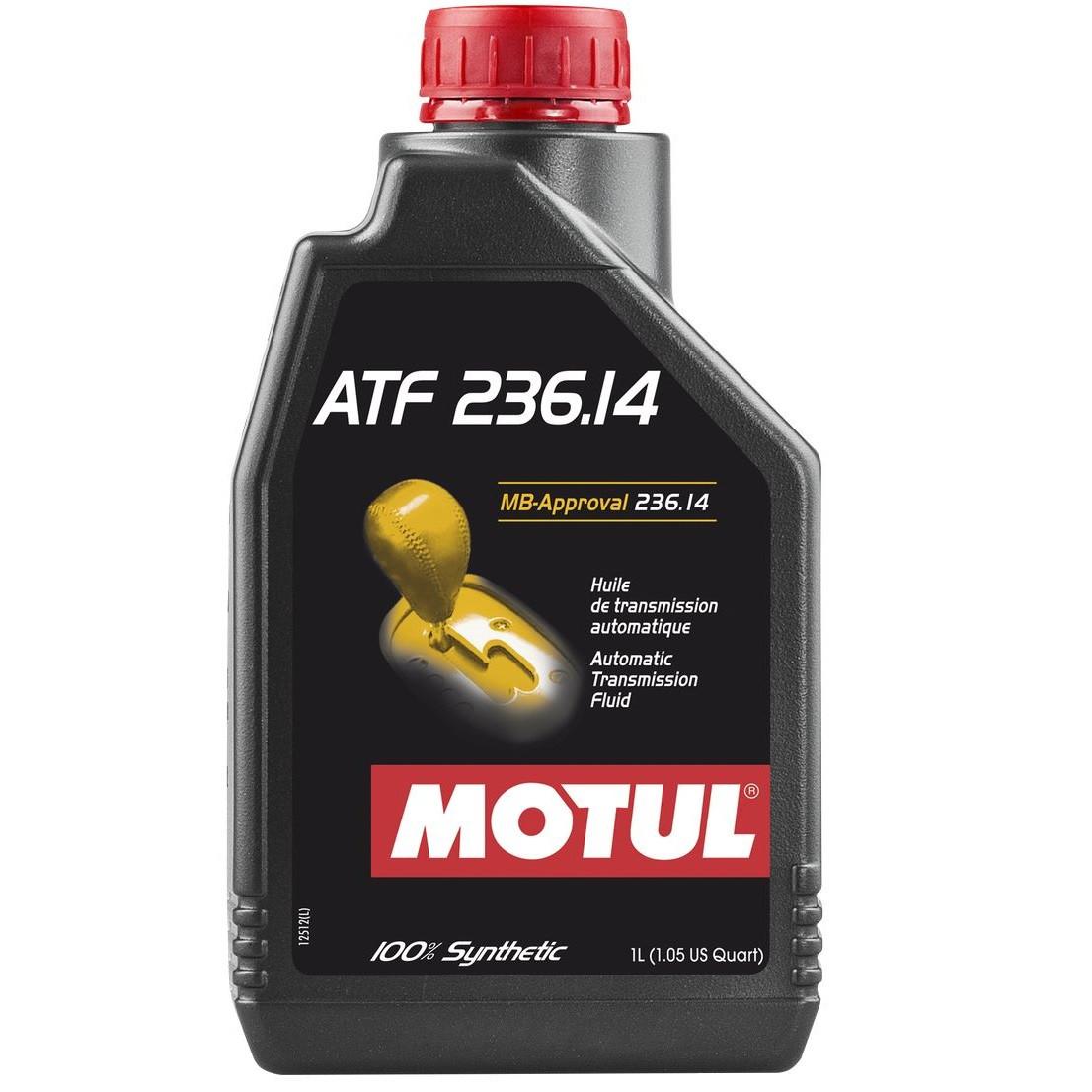 Масло трансмісійне 100% синтетичне MOTUL ATF 236.14 1л. 105773/845911