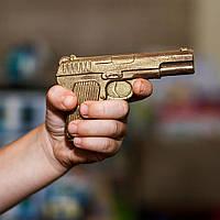 Подарки на день рождения - Шоколадный пистолет - молочный шоколад