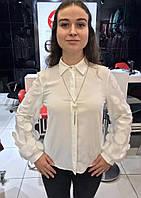 Блуза женская с декоративными рукавами. Турция.