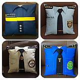 Подарочная подушка униформа полиции, сотруднику СБУ, пожарнику, стоматологу, моряку, нацгвардии, медику, врачу, фото 2