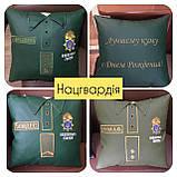 Подарочная подушка униформа полиции, сотруднику СБУ, пожарнику, стоматологу, моряку, нацгвардии, медику, врачу, фото 6