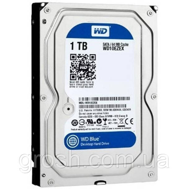 Жесткий диск WD Blue WD10EZEX 1Tb